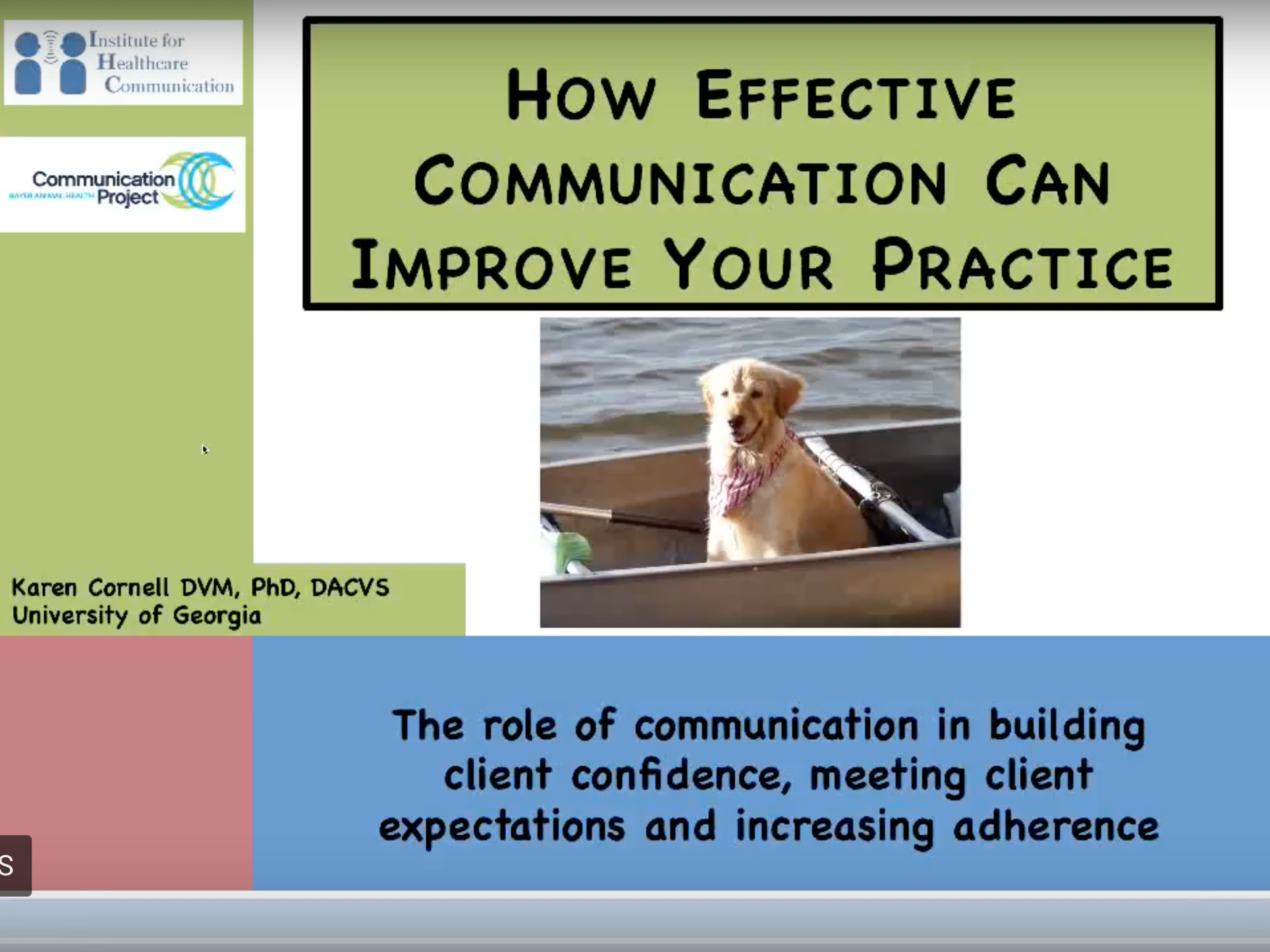 Communications for Veterinarians
