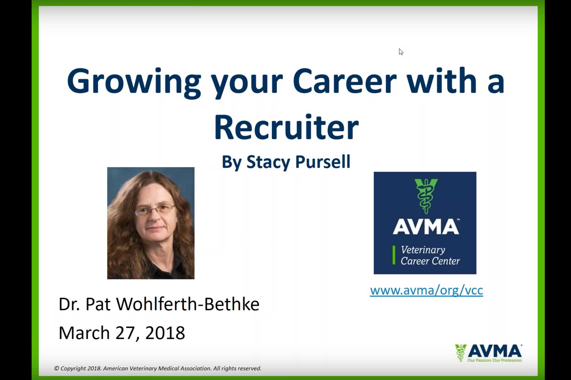 growing your career with a recruiter