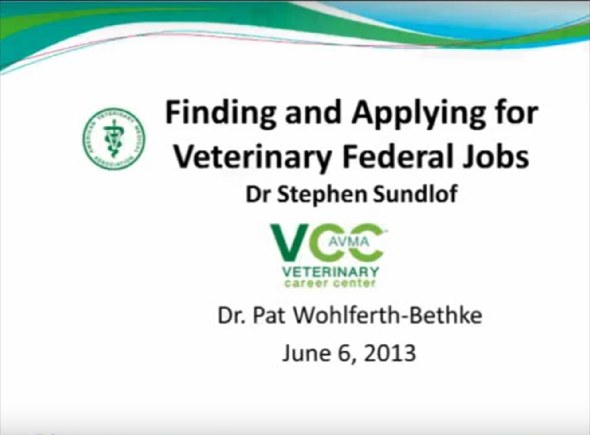Finding and Applying for Federal Veterinary Jobs